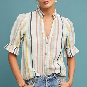 Antho | Maeve Ailsa Striped Top Colorful Size 8